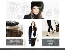 #15 untuk Homepage mock up for ecommerce site oleh Joeyizzy
