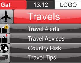 #19 para Design main and detail pages for travel security app on Blackberry por abhig84