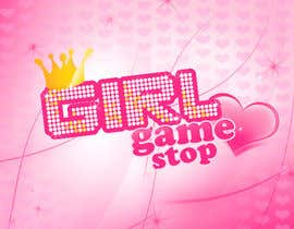 #17 untuk Logo and background. Girls Games. oleh Patrycjapati