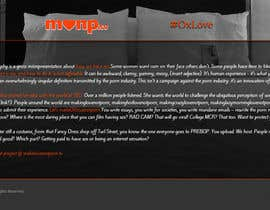 Nro 7 kilpailuun Design a Landing Page for MakeLoveNotPorn.tv ! käyttäjältä piruchex