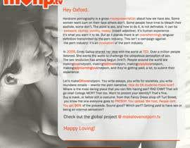 Nro 2 kilpailuun Design a Landing Page for MakeLoveNotPorn.tv ! käyttäjältä Moesaif
