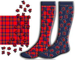 #32 untuk Design some Fashion for a sock oleh helenborzsony