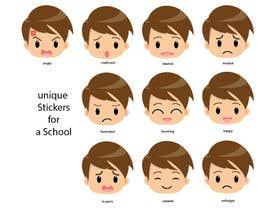 aminelatroch tarafından Design some unique Stickers for a School için no 15