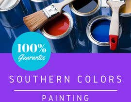 veradee tarafından Design a Flyer for my paint company....the name of my company is Southern Colors Painting  and I'm from Texas için no 1