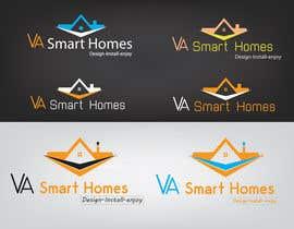 #48 untuk Design a Logo for Virginia Smart Homes oleh sherryshah91