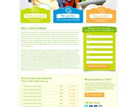 #115 untuk Design a Website Mockup for a campaign oleh herick05