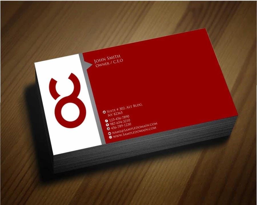 Penyertaan Peraduan #34 untuk Design some Business Cards for Accounting / Consulting Business
