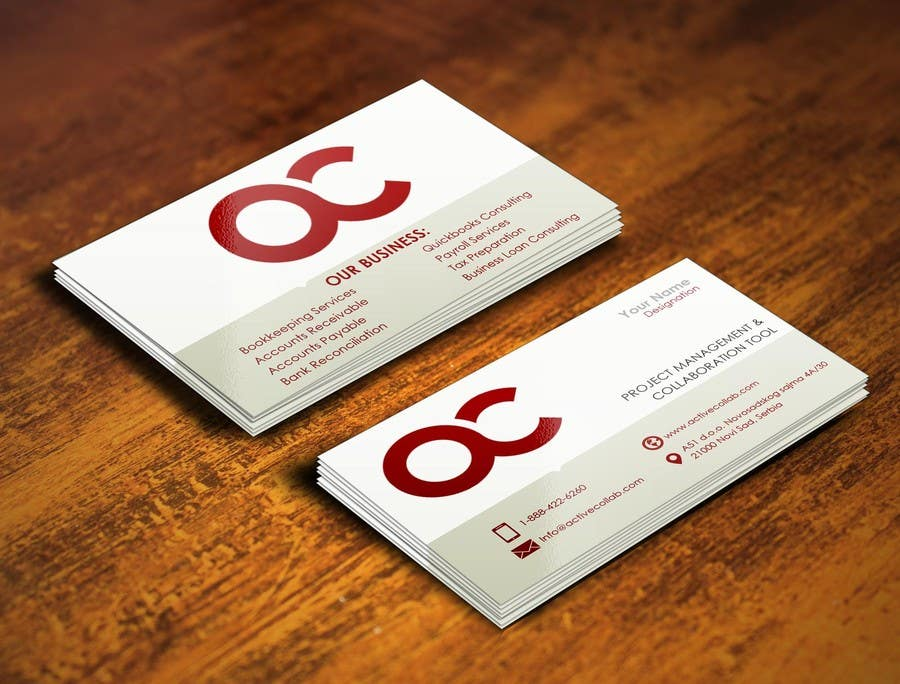 #9 for Design some Business Cards for Accounting / Consulting Business by pointlesspixels
