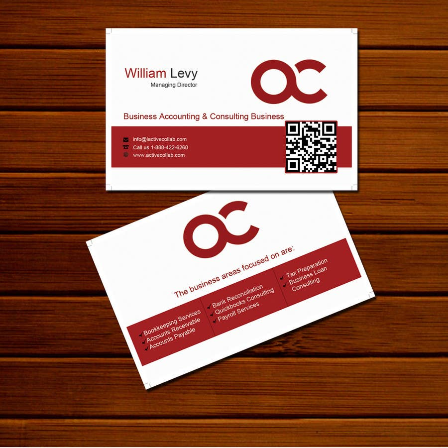 #5 for Design some Business Cards for Accounting / Consulting Business by seofutureprofile