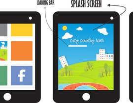#9 untuk Logo/splash screen and main menu design for game app oleh mall1usman