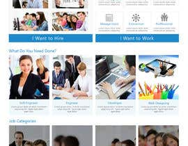 #14 for Design mockup for a services outsourcing website by imranwebdesigner