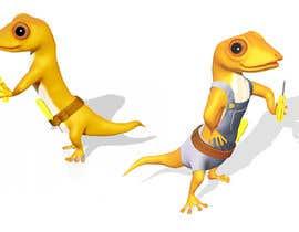 "#107 for ""Lizard Lick LED"" character branding - Lizard & Lick! af Izzyarts"