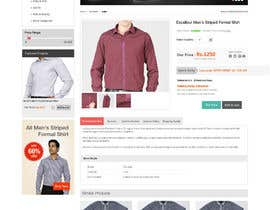 #7 untuk Design a Website Mockup for eCommerce Product Page oleh vanessama