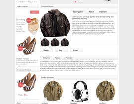 #4 untuk Design a Website Mockup for eCommerce Product Page oleh webidea12