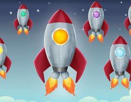 MonikaLeosz tarafından Design 11 New rockets for my game için no 24