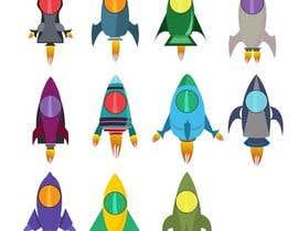 doringa tarafından Design 11 New rockets for my game için no 22