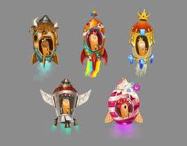 salman132 tarafından Design 11 New rockets for my game için no 19