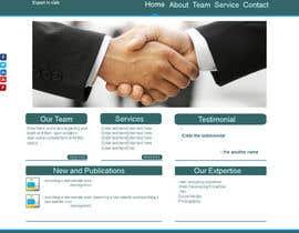 #6 para Design a Website Mockup for hire company por patelmaulesh31