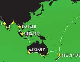 OLASON tarafından Recreate a World Map için no 17