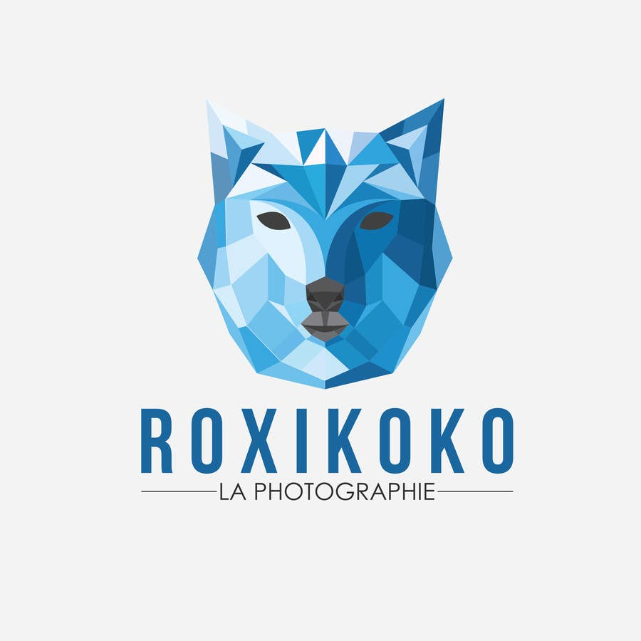 entry 40 by zafrandesign for low poly logo for boutique portrait studio freelancer boutique portrait studio freelancer