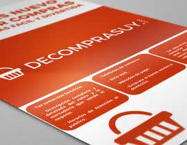 Nro 5 kilpailuun Diseñar 2 folletos käyttäjältä JuanRivasDesign
