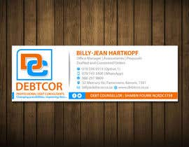 Muazign3r tarafından Re-design our company email signature with a professional look and feel için no 35