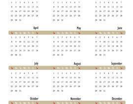 misschi tarafından 2017 wall calendar 11 x17 için no 2