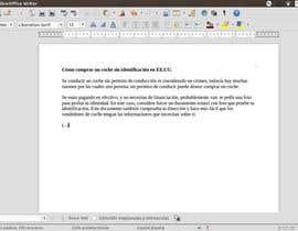 ligiamariatc tarafından Writing Spanish Articles için no 9