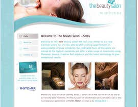 #4 for Design Vintage look for website Beauty Salon by OkeshMeyos