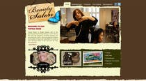 Contest Entry #8 for Design Vintage look for website Beauty Salon