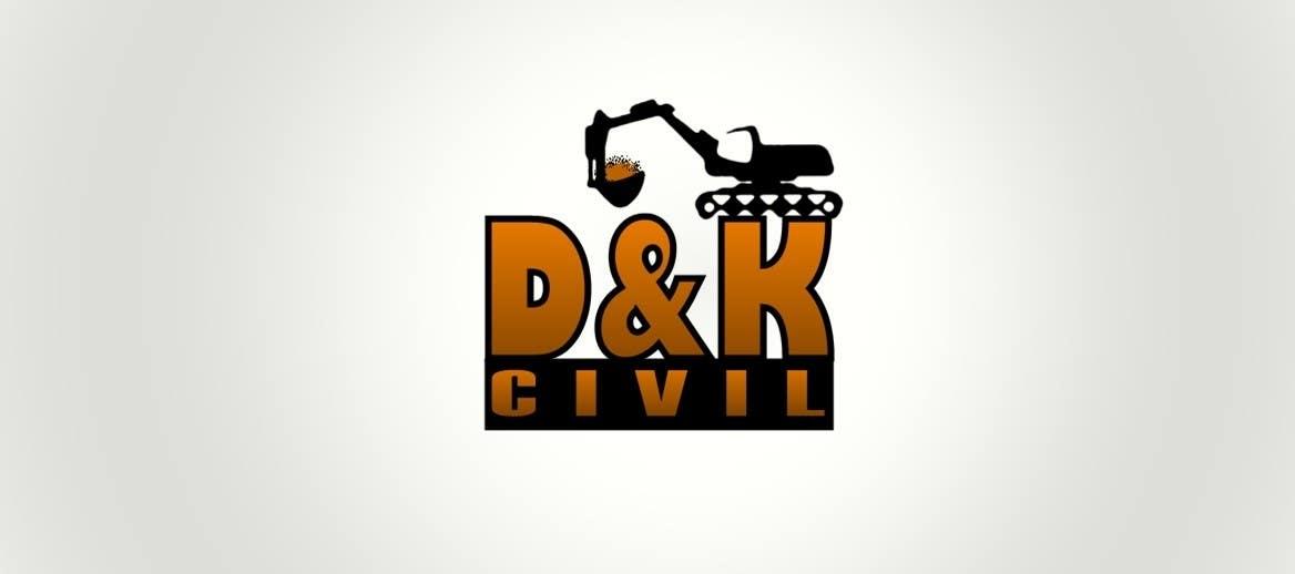 Bài tham dự cuộc thi #                                        20                                      cho                                         Design a Logo for D & K CIVIL