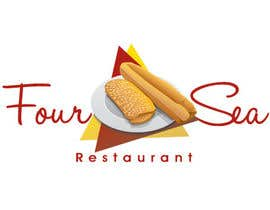 #35 para Logo Design for Four Sea Restaurant por trizons