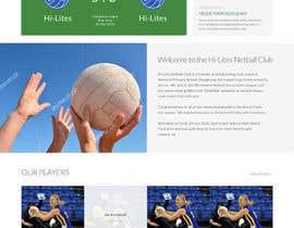 phantham tarafından Design website for a netball club için no 5