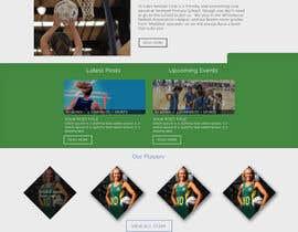 EagleAli tarafından Design website for a netball club için no 7