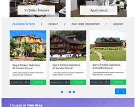 #34 for Design a Website Mockup for Realestate Portal by MedusaCode