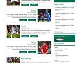 ravinderss2014 tarafından Design Website Mockup for Astro Match Prediction için no 5