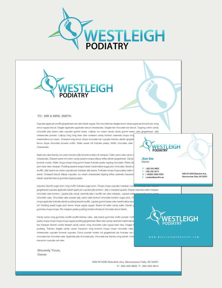 Entri Kontes #179 untukLogo Design for Westleigh Podiatry