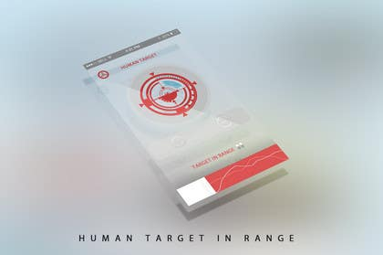 #3 for Design an App Mockup for a Futuristic Mission Impossible type interface by noniproduction