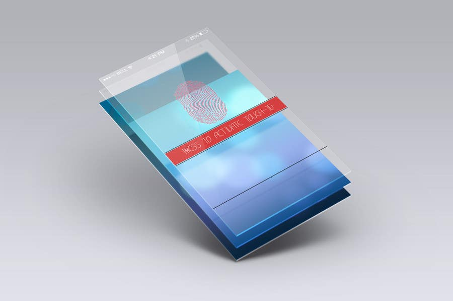 #5 for Design an App Mockup for a Futuristic Mission Impossible type interface by noniproduction
