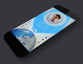 #20 for Design an App Mockup for a Futuristic Mission Impossible type interface by noniproduction