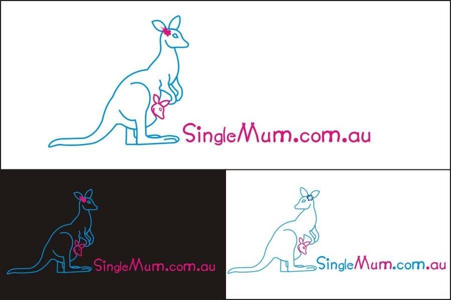 Příspěvek č. 308 do soutěže Logo Design for SingleMum.com.au
