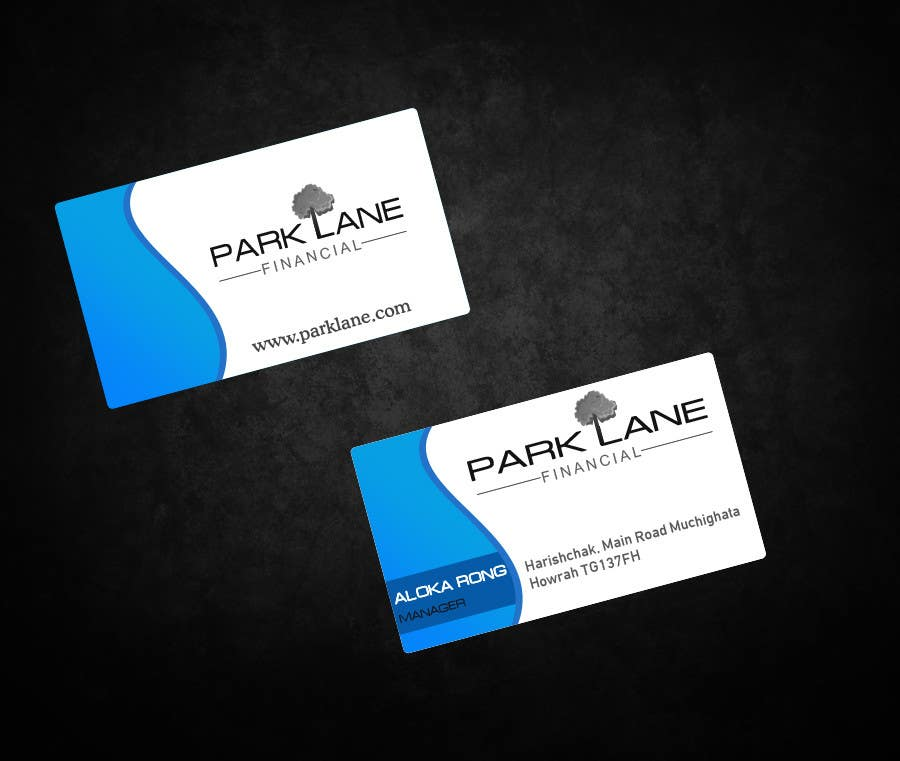#30 for Business Card Design for Park Lane Financial by aryamaity