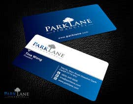 #12 untuk Business Card Design for Park Lane Financial oleh Brandwar