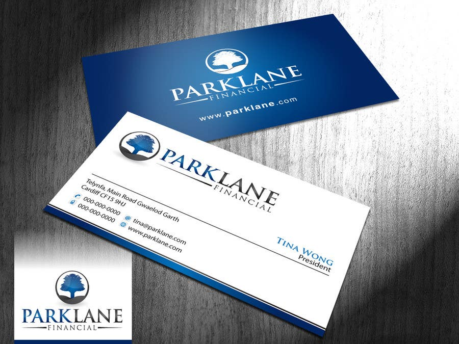 #39 for Business Card Design for Park Lane Financial by Brandwar