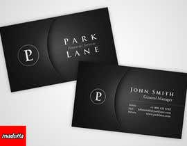 nº 10 pour Business Card Design for Park Lane Financial par madotta