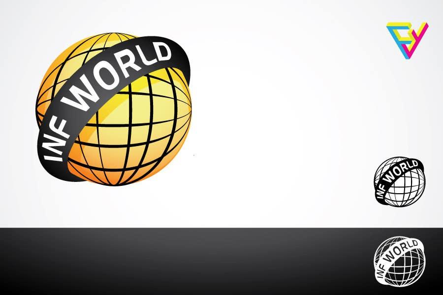 Bài tham dự cuộc thi #7 cho Logo Design for INF World Company