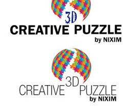 donmute tarafından Logo Design for: creative 3D puzzle by NiXiM için no 39