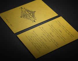 BikashBapon tarafından Golden ticket wedding invitation için no 7