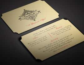 BikashBapon tarafından Golden ticket wedding invitation için no 18