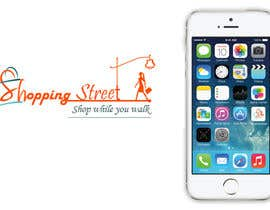 logosinfotech tarafından I need a logo designed.for my shopping street iphone app için no 6